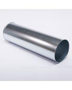 Rohr, verzinkt, 1m lang, 300 mm