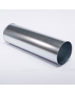 Rohr, verzinkt, 1m lang, 350 mm