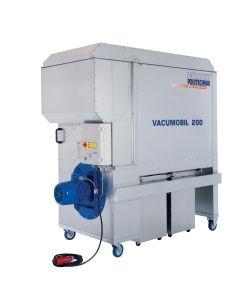 Vacumobil VT 200-L (Abreinigung: Vibration), Tonneneinheit, Entstauber, 4,0 kW, GS/H3